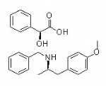 (2S)-HYDROXY(PHENYL)ACETIC ACID (2R)-N-BENZYL-1-(4-METHOXYPHENYL)PROPAN-2-AMINE